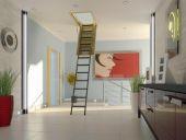 Чердачная металлическая лестница Fakro LWM